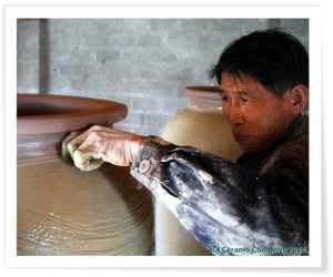 Rustic Pottery Glazing